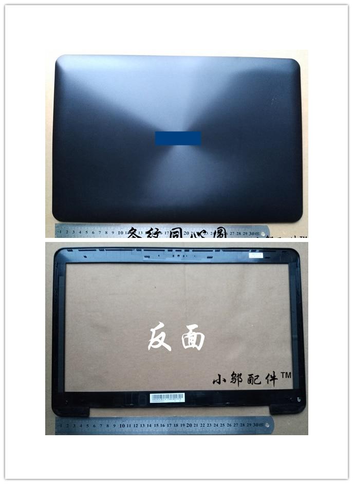 90% Nouvel ordinateur portable Top case couverture de base/lcd avant lunette pour ASUS X554 F554 K554 X554L F554L en plastique ordinateur portable