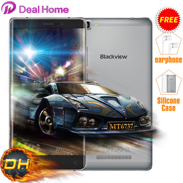 """Case+Earphone=Gift Blackview A8 Blackview A8 Max Mobile Phone 4G LTE Android 6.0 MT6737 Quad Core 5.5"""" 2+16GB A8 Max In Stocks!"""