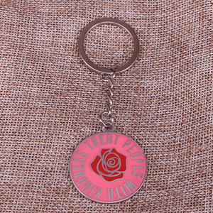 Image 1 - Be Kind by Harry Styles Key Ring Treat People With Kindness Keychain