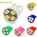 New Arrival 10X4SMD T101210 smd 4 Led Lights Car Bulbs 194 168 501 W5W Wedge Tail st29