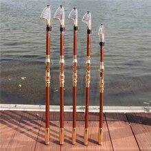 99% углеродистая 2,1 М 2,4 М 2,7 М 3,0 М 3,6 м портативная телескопическая удочка Спиннинг рыболовные снасти