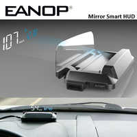 EANOP M20 Spiegel HUD Head Up display Auto HUD OBD2 Auto Geschwindigkeit Projektor KMH MPH Tacho Auto Detektor Öl Verbrauch