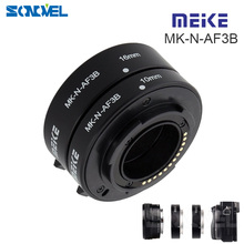 Meike Auto Focus Macro Extension Tube 10mm 16mm for Nikon 1 mirrorless Camera AW1 S2 J5 J4 J3 J2 J1 V3 V2 V1