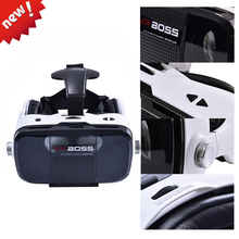 Original VR BOSS Z5 VR 3D Glasses Virtual Reality VR With Microphone and Headset Google Cardboard