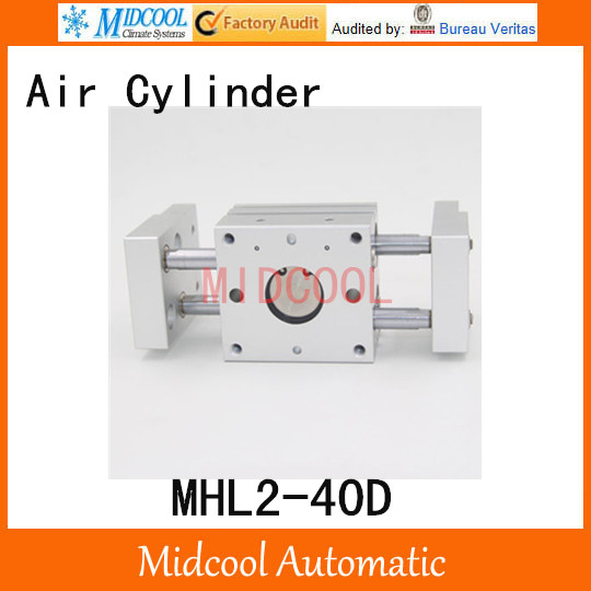 MHL2-40D double acting wide pneumatic cylinder gripper pivot gas claws parallel air SMC type cylinder high quality double acting pneumatic gripper mhy2 20d smc type 180 degree angular style air cylinder aluminium clamps