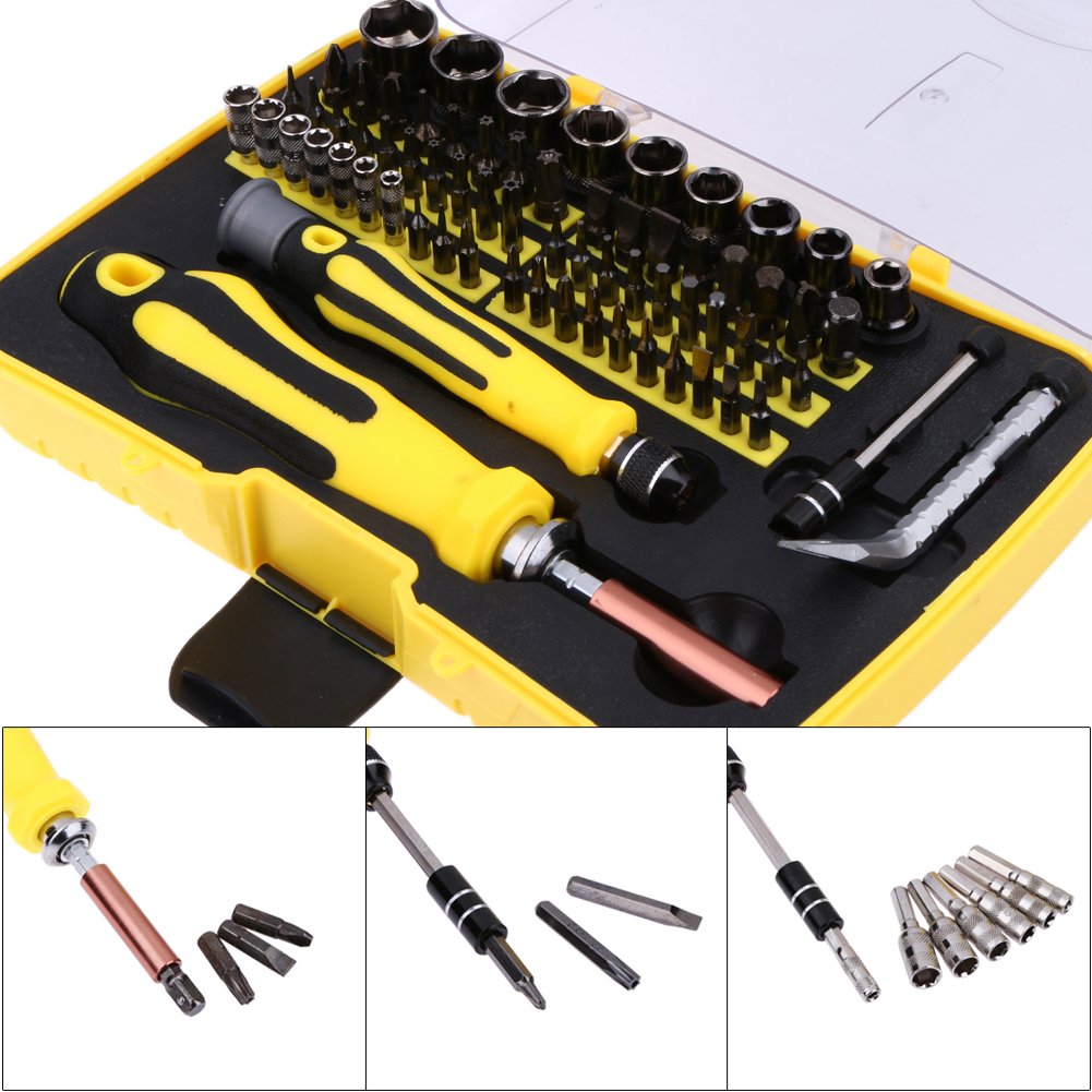 Image result for 69 in 1 Hardware Torx Screw Driver Screwdrivers Repair Tools Kit