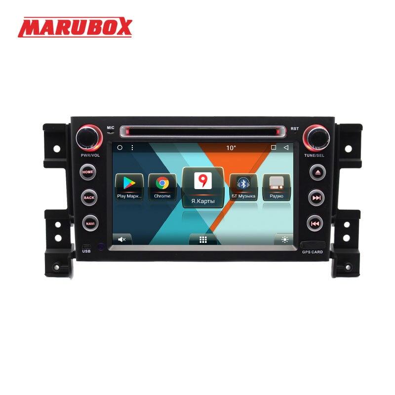 MARUBOX 7A905MT8 Voiture Lecteur Multimédia pour Suzuki Grand Vitara, Octa Core, Android 7.1, GPS, Radio, bluetooth, DVD