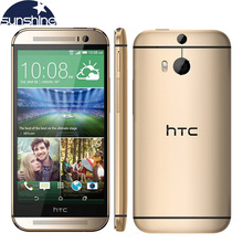 Разблокирована оригинальный HTC One M8 LTE мобильный телефон 2 г Оперативная память Quad Core 5 «3 камер WCDMA Восстановленное смартфон