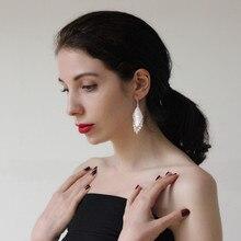 999 Sterling Silver Geometric Drop Earrings Bohemian Tassel Women Handmade Earing Gypsy Ethnic Fine Boho Jewelry Luxury Brand цена