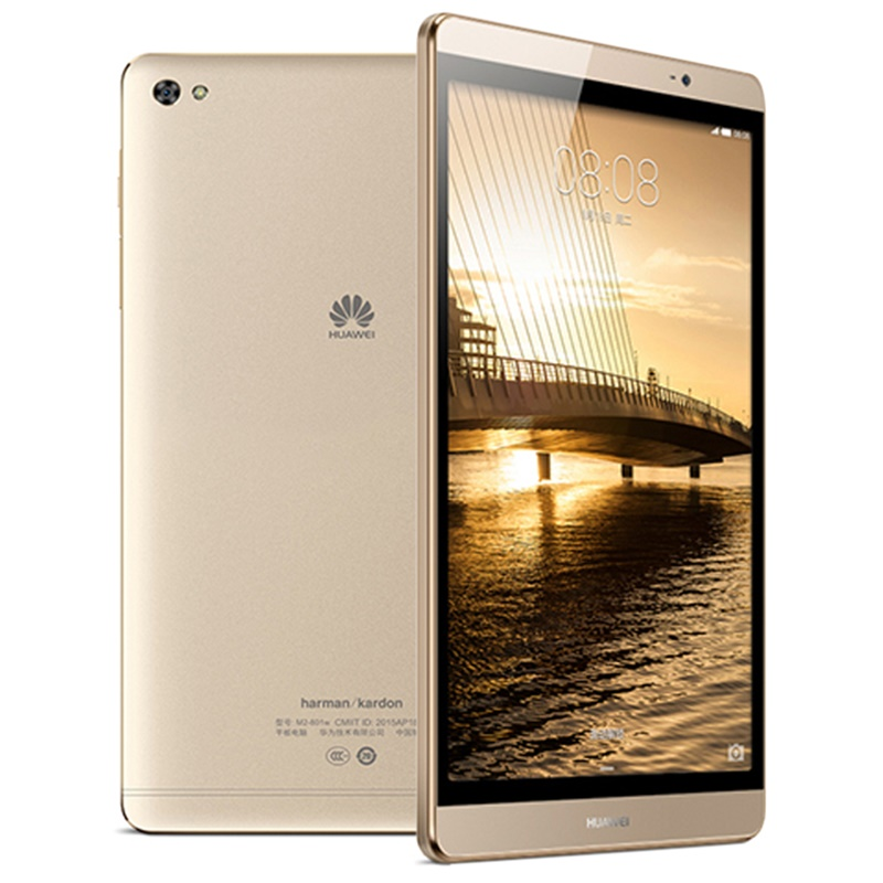 Huawei Mediapad M2 8 дюймов 2,0 ГГц Восьмиядерный 3G Ram 64G Rom WiFi 4800 мАч ips Kirin 930 МП планшетный ПК huawei M2 - 2