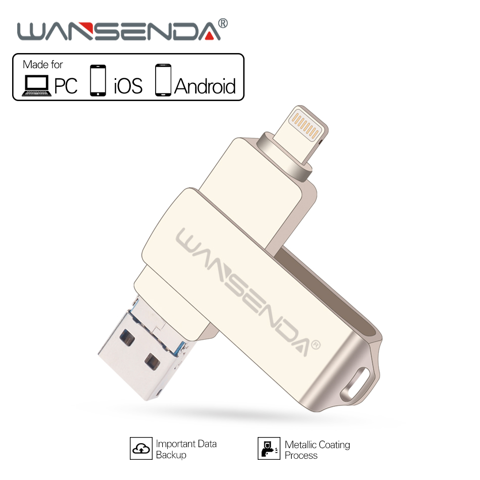 Usb Flash Drive 32gb Sandisk Ultra Android Dual Otg 3 0 New Wansenda In 1 For Ios Pc 30