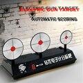 ZUANLONG 3-Plate Reset Electromotor Metas de Pontuação Geral Elétrica Rifle Espingardas Batalha Brinquedo Bala Tiro Prática Alvos