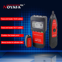 Network coax cable tester NF8200 LAN Network telephone cable tester RJ45 RJ11 Cable Continuity Tester inspection Wire Tracker