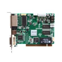 O envio gratuito de nova levou cartão enviando msd300 full color screen display led placa do painel controlador de sinal