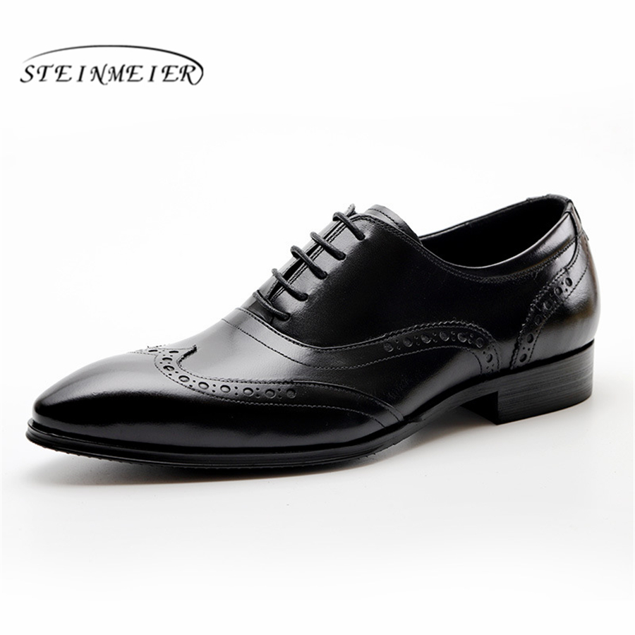 Mens formal shoes leather men dress oxford shoes for men dressing wedding business office shoes lace up male zapatos de hombreMens formal shoes leather men dress oxford shoes for men dressing wedding business office shoes lace up male zapatos de hombre
