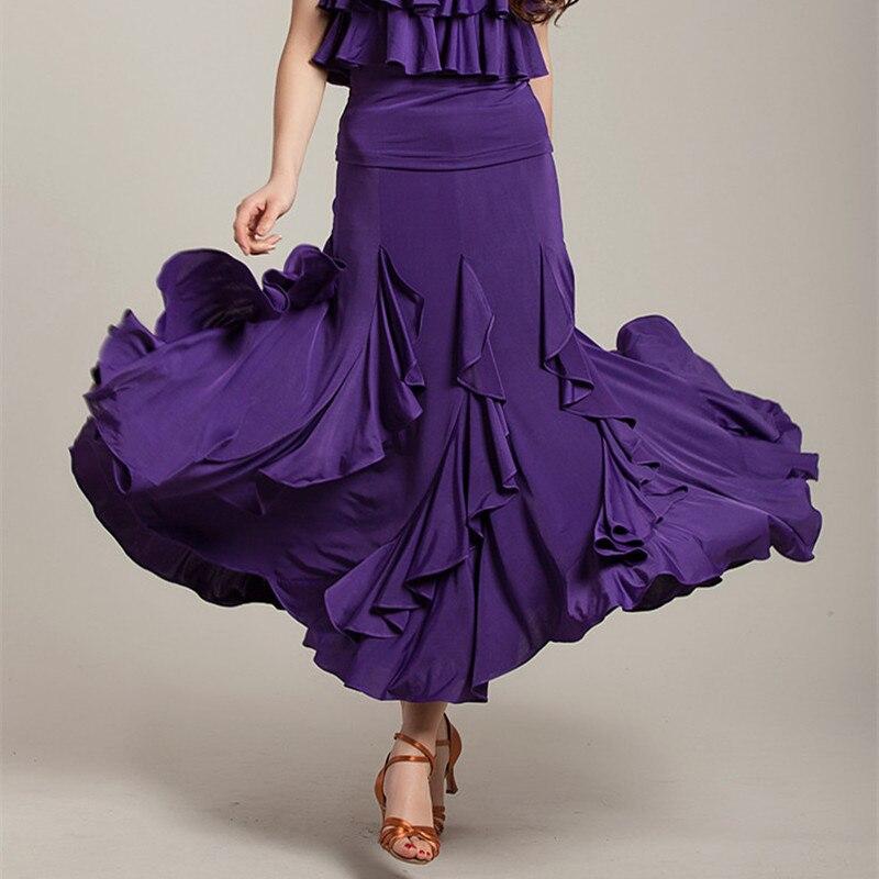 Haute qualité flamenco jupe latine salsa flamenco danse robe de bal jupe ---- nouvelle danse skrit pour les femmes/espagne danse jupe