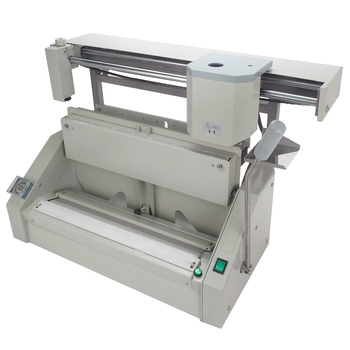High quality desktop glue binding machine DC-460A For A3, 10min Heating up time,2 pages-40mm Book thickness