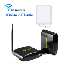 HOT New 2 4GHz 500m Wireless STB AV Sender TV font b Audio b font Video