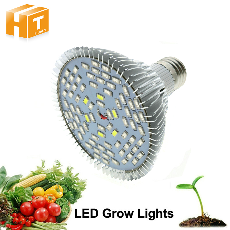 Full Spectrum Led Grow Light 10W/30W/50W/80W Red Blue UV IR Led Growing Lamp For Hydroponics Flowers Plants Vegetables