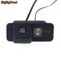 BigBigRoad Car Rear View Parking Camera For Ford Mondeo Ba7 Fiesta Focus 2 Hatchback S Max S Max Kuga 2006 2007 2008 2009 2010