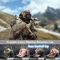 Newly Kryptek Camo  Baseball Cap Ripstop outdoor baseball cap 5 optional color Mandrake Highlander Typhon Nomad Mountain