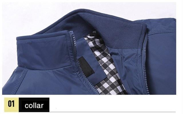 Men's Fashion Casual Sportswear Bomber Jacket 34