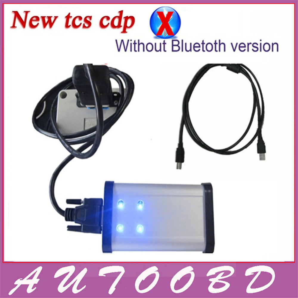 ФОТО DHL Free ! 2014.2 CD with Keygen activator 2014 R2 TCS CDP PRO PLUS LED CABLE SN.100251 for OBDII Cars Trucks Generic 3 in 1