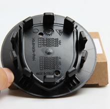 4pcs 76mm Genuine Concave Brilliant Silver Gold Crest 3″ 75mm Wheel Center Caps OEM NO. 7PP601150A 8Z8