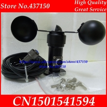 Wind speed sensor voltage signal 0 5V 4 20ma output wind speed transmitter anemometer free shipping ,aluminum alloy 2m cable