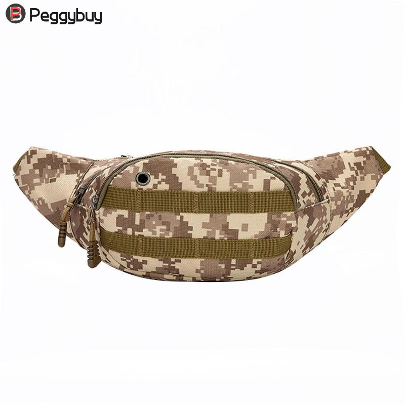 Waist Bag Men Travel Bags Camouflage Multifunction Men Handy Hip Waist Belt Bag Money Belt Chest Bag Women