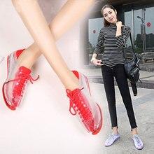 Swyivy tênis de cristal sapatos mulher outono 2018 feminino stransparent plástico geléia sapatos senhora sapatos casuais sapatos femininos tênis