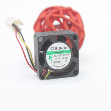 цена на Free Shipping Wholesale SUNON 12v 1.5w 0.12a 4020 40 40MM 4cm MC40201VX-Q00C-S99 server inverter power supply axial cooling fans