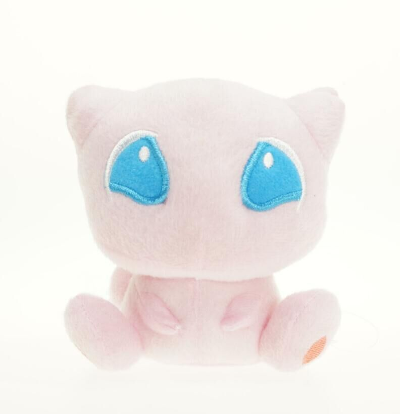 New Eevee Action Figure Mega Mew Plush 6 Inch Doll ToyNew Eevee Action Figure Mega Mew Plush 6 Inch Doll Toy
