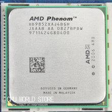 Оригинальный AMD Процессор феномен X4 9850 процессор 2.5 г K10 разъем AM2 +/940 Булавки/dual-core /2 МБ L3 Кэш 95 Вт