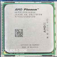 Original AMD CPU Phenom X4 9850 processor 2.5G K10 Socket AM2+/ 940 Pin /Dual CORE / 2MB L3 Cache 125 W