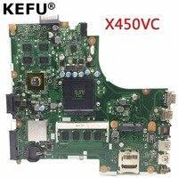 KEFU X450VC материнская плата для ASUS X450VC X450CC материнская плата для ноутбука оригинальный Тесты плата X450VC noteboard