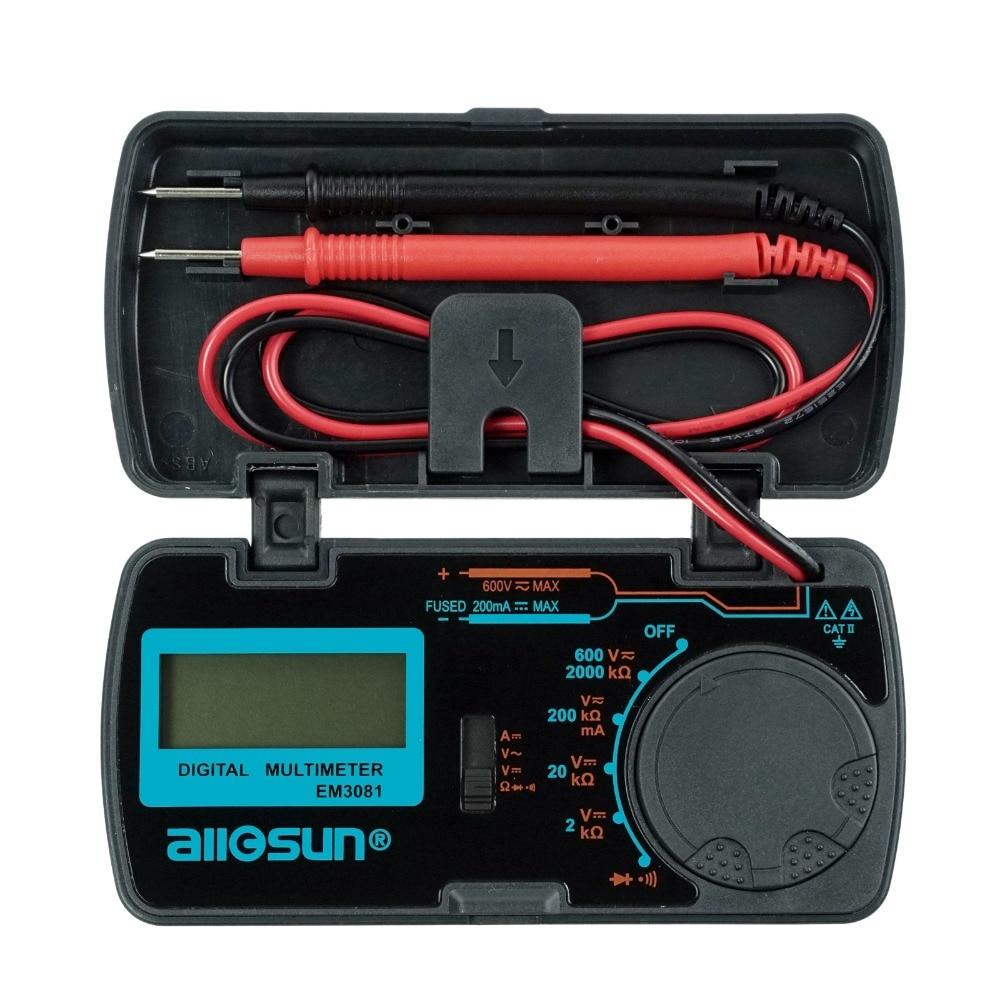 All-sun EM3081 EM3082 Digital Multimeter 3 1/2 1999 Low Battery Indication Overload Protection MULTIMETER Automotive Tester