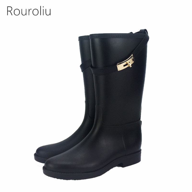 Popular Rainboots Black-Buy Cheap Rainboots Black lots from China ...