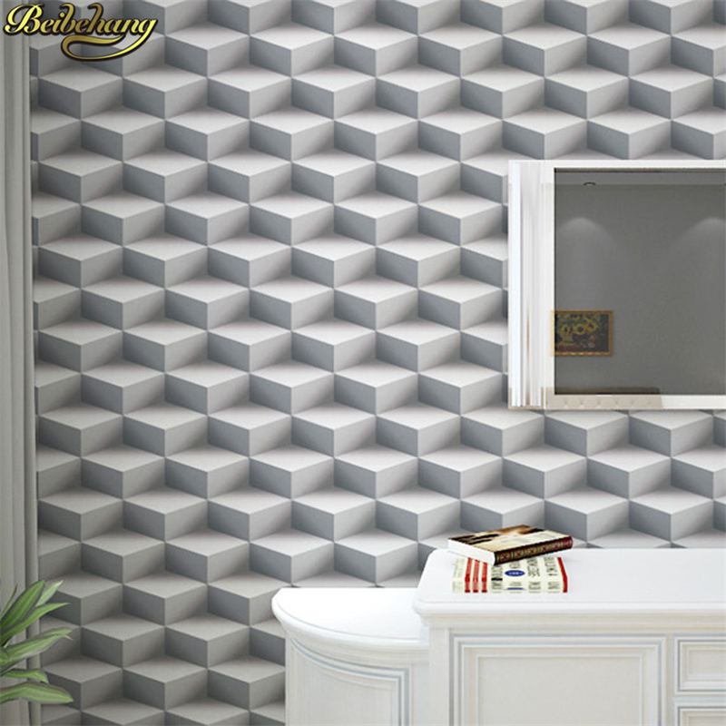 beibehang papel de parede 3d Geometric triangle wallpaper for walls 3 d wall papers home decor 3D Modern living room decoration large photo wallpaper bridge over sea blue sky 3d room modern wall paper for walls 3d livingroom mural rolls papel de parede
