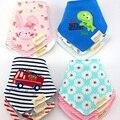 3 unids/lote Chica Kids Bebé Baberos Paños Del Burp Baberos Almuerzo Baberos de Bebé de Algodón de Alta Calidad Baberos Bebe Infantil Niños niñas