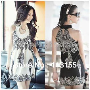 Dresses Dynamic 2014 New Vestido De Festa Party Dresses Holiday Sale Shipping Womens Dress Piece Free Size 2 Colors Ice Sleeveless Free Hot Sale 50-70% OFF