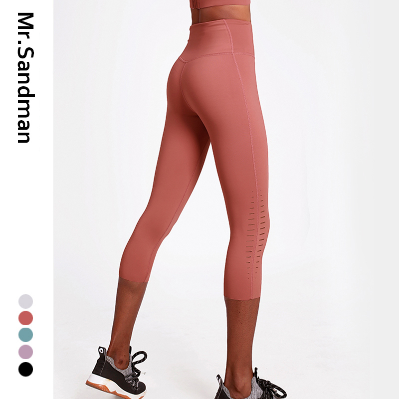 High waist leggings sport women fitness yoga capris workout gym legging skinny sport yoga pants hollow out athletic leggings 1