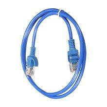2019 RJ45 Ethernet кабель UTP Интернет кабель со штыревыми соединителями на обоих концах для подключения сети LAN кабель патч Соединительный шнур для компьютера