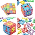 2016 Newest 36pcs/lot Number Puzzle Mat For Kids Classic Children Toys Mini Educational Toy Foam Floor Alphabet Free Shipping