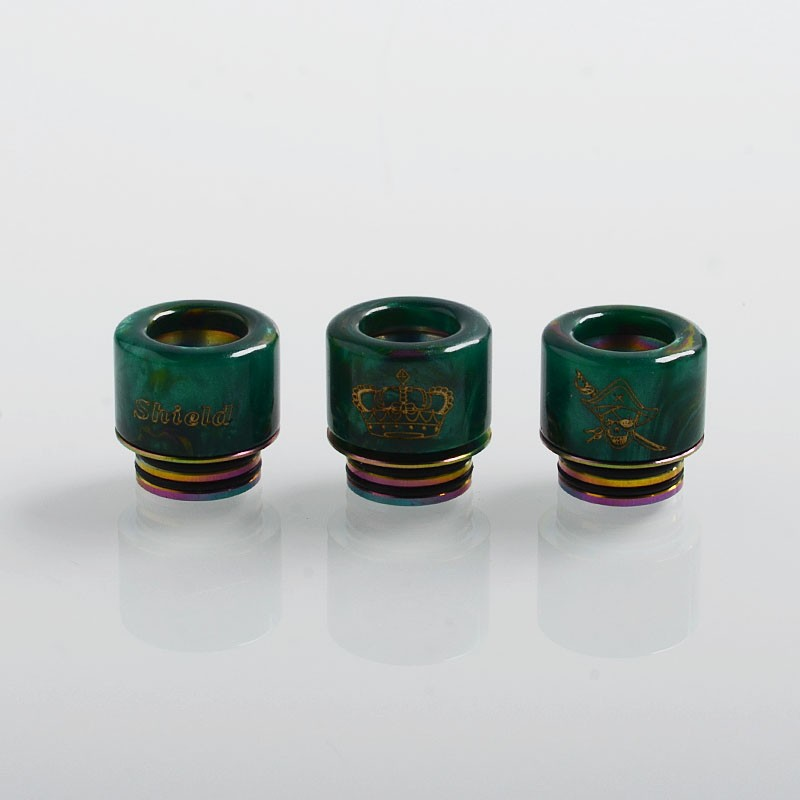 authentic-shield-cig-adjustable-810-drip-tip-for-tfv8-tfv12-tank-528-goon-kennedy-reload-rda-green-resin-11mm (1)