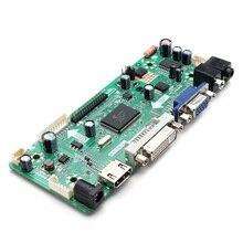 م. NT68676.2A HD لوحة تحكم شاملة في التلفزيون الإل سي دي تحكم مجلس نموذج مشغل HD VGA DVI مع الصوت