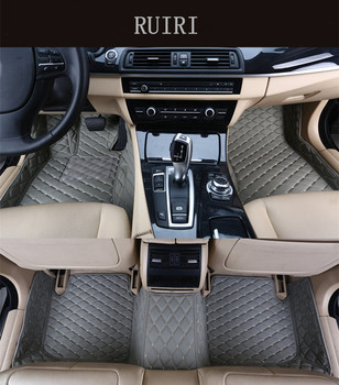 Good quality rugs & Free shipping! Custom special floor mats for Bentley Flying Spur 5 seats 2012-2005 durable non-slip carpets