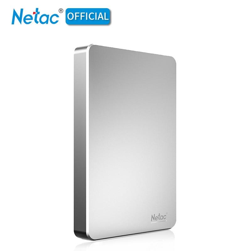 Netac 2.5 Portable HDD 5400rmp USB 3.0 500GB 1TB Hard Disk HD 500 GB 1TB External Hard Drive Storage For Desktop Laptop PC Mac