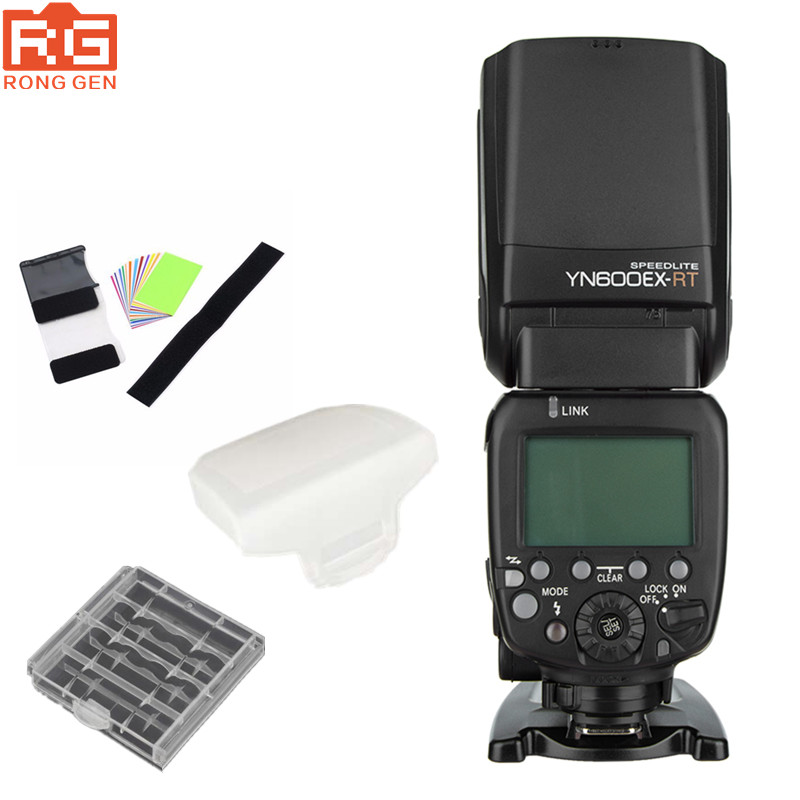 New Origina YONGNUO YN600EX-RT II 2.4G Wireless HSS 1/8000s Master TTL Flash Speedlite for Canon Camera as 600EX-RT YN600EX RT вспышка для фотокамеры yongnuo speedlite yn600ex rt canon 600ex rt 2 4g hss 1 8000s speedlite yn600ex rt