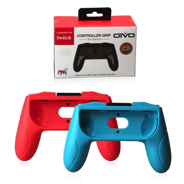 2 sztuk dla nintendo przełącznik NS NX Joy-Con konsoli aktualizacja wersji kontroler uchwyt uchwyty Joy wady uchwyt na